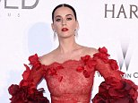 Mandatory Credit: Photo by David Fisher/REX/Shutterstock (5689674es) Katy Perry amfAR's 23rd Cinema Against AIDS Gala, Arrivals, Cannes, France - 19 May 2016