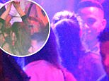 EXCLUSIVE ALL ROUNDER ***MINIMUM FEE £500 PER PAPER***NO WEB*** Irina Shayk and Lewis Hamilton are seen partying at the Gotha Club during the Cannes Film Festival 19 May 2016. Please byline: Vantagenews.com