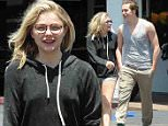Chloe Grace Moretz is all smiles as she enjoys a lunch date with boyfriend Brooklyn Beckham at Bel Air Deli in Los Angeles.\nFeaturing: Chloe Moretz, Brooklyn Beckham\nWhere: Bel Air, California, United States\nWhen: 17 May 2016\nCredit: Cousart/JFXimages/WENN.com\n****Not available for publication in Australia or New Zealand****