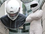 18 May 2016.\nChris Evans seen leaving BBC Radio Two studios as 'The Stig' moves to a new home outside the BBC Broadcasting House.  The 100 foot high model of 'The Stig' has moved in to promote the return of the new TV series which starts on the 29th May 2016. - London\nCredit: GoffPhotos.com   Ref: KGC-130\n