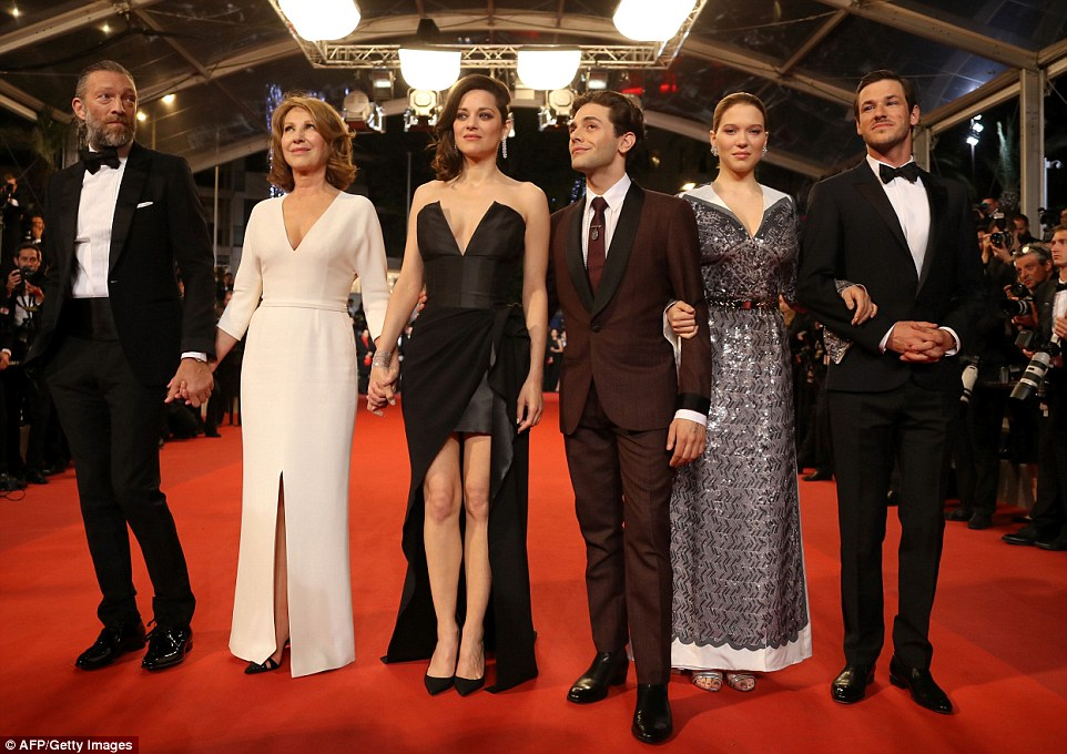 Line-up: French actor Gaspard Ulliel, French actress Lea Seydoux, Canadian director Xavier Dolan, French actress Marion Cotillard, French actress Nathalie Baye and French actor Vincent Cassel