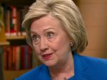 """Democratic presidential front-runner Hillary Clinton criticized presumptive Republican presidential nominee Donald Trump on Thursday, saying his recent behavior shows he's not qualified to president.  """"When you run for president of the United States, the entire world is listening and watching,"""" Clinton told CNN's Chris Cuomo during an exclusive interview in Chicago. """"So when you say you're going to bar all Muslims, you're sending evidence to the Muslim world, and you're also sending a message to terrorist ... Donald Trump is essentially being used as a recruiter for more people to join the cause of terrorism."""" She added, """"Based on the way he has behaved and how he has spoken and the policies he has ... thrown out there, I think it adds up to a very troubling picture. Clinton also addressed the disappearance of EgyptAir Flight 804, saying the disaster """"shines a very bright light on the threat that we face from organized terror groups."""" """"It reinforces the need for American leadership --"""