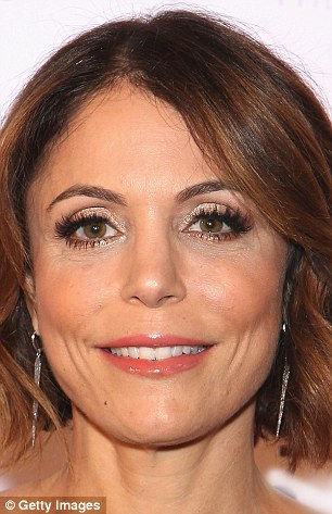 Changing face: Bethenny Frankel pictured in New York last week