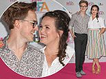 17 May 2016. Lorraine's High Street Fashion Awards 2016 at the Grand Connaught Rooms, London. Giovanna Fletcher, Tom Fletcher Credit: Andy Oliver/GoffPhotos.com   Ref: KGC-143