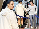 18.May.2016 - Cannes - FRANCE\n\n**EXCLUSIVE PICTURES** \n\nKim Kardashian and her mother Kris Jenner arrive at 5:30am at Nice airport to catch a flight back to Los Angeles after attending the Cannes Film Festival!\n\nThe reality star had to remove her thigh high boots as she passed through security!\n\nBYLINE MUST READ : E-PRESS-AKM-GSI-XPOSUREPHOTOS.COM\n\n*AVAILABLE FOR UK SALE ONLY*\n\n***UK CLIENTS - PICTURES CONTAINING CHILDREN PLEASE PIXELATE FACE PRIOR TO PUBLICATION ******\n\n**UK CLIENTS MUST CALL PRIOR TO TV OR ONLINE USAGE PLEASE TELEPHONE  44 208 344 2007 ***