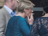 17 May 2016  - Newcastle  - UK *** EXCLUSIVE ALL ROUND PICTURES *** Clare Balding spotted having a cigarette with a glass of wine in the other hand at the CHUF Charity Event in Newcastle! BYLINE MUST READ : XPOSUREPHOTOS.COM ***UK CLIENTS - PICTURES CONTAINING CHILDREN PLEASE PIXELATE FACE PRIOR TO PUBLICATION *** **UK CLIENTS MUST CALL PRIOR TO TV OR ONLINE USAGE PLEASE TELEPHONE  442083442007