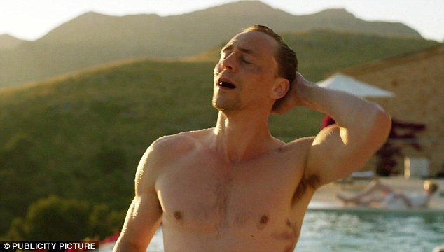 Hiddleston's name was on the tip of everyone's tongue after he proved his secret agent credentials with his role in The Night Manager (pictured), and steamy scenes with his top off lit up social media
