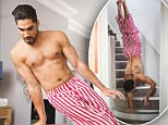 MANDATORY CREDIT: Daniel Lewis/ Kelloggs/REX Shutterstock\nEditorial use only. No stock\nMandatory Credit: Photo by Daniel Lewis/Kelloggs/REX/Shutterstock (5686572f)\nOlympic medal winning gymnast Louis Smith performs a unique morning routine to mark his appointment as a Kelloggs Team GB ambassador and to launch the #GreatStarts competition ahead of the Olympic Games in Rio 2016. The public are being encouraged to share how they start the day right by using the #GreatStarts hashtag on social media, which will enter them into an exclusive competition to win a pair of tickets to see Team GB at the Olympic Games\nLouis Smith does impressive moves during his morning routine, Britain  - May 2016\nFULL COPY: http://www.rexfeatures.com/nanolink/sd1v\nWith the Olympic Games mere months away, Louis Smith has given an insight how he gets his day off to a great start, with a remarkable morning routine that includes somersaults, pommel horse practice and the splits!\nThe new video released shows
