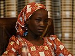 Amina Ali Darsha Nkeki, a Nigerian schoolgirl rescued after over two years of captivity with Boko Haram militants, looks on while visiting President Muhammadu Buhari in Abuja, Nigeria May 19, 2016. REUTERS/Afolabi Sotunde TPX IMAGES OF THE DAY