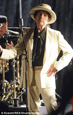 Bob Dylan performing during his 'Never Ending Tour' concert at The Beacon Theatre in New York, US