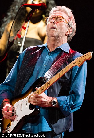 Eric Clapton in concert at the Royal Albert Hall