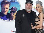 SYDNEY, AUSTRALIA - NOVEMBER 26:  Kyle Sandilands and Imogen Anthony arrives at the 28th Annual ARIA Awards 2014 at the Star on November 26, 2014 in Sydney, Australia.  (Photo by Mark Metcalfe/Getty Images)