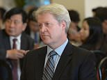 LOS ANGELES, CA - MAY 11:  Charles, 9th Earl Spencer attends ChinaWeek's Business Summit VIP Dinner at Empress Pavilion on May 11, 2016 in Los Angeles, California.  (Photo by Charley Gallay/Getty Images for The Spencer Family)
