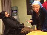 Emilia Clarke Pranks Sleeping 'Game of Thrones? Costar in Between Takes of Fiery Nude Scene