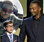 Presenter Jacob Tremblay (L) announces the award for Best Screenplay along with fellow presenter Anthony Mackie at the 31st Independent Spirit Awards in Santa Monica, California February 27, 2016.  REUTERS/Carlo Allegri