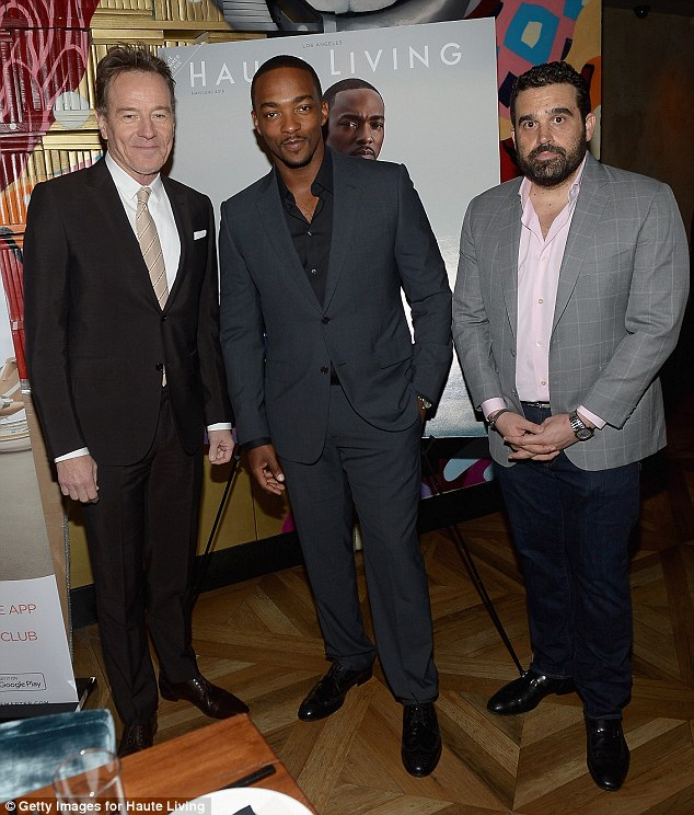 Old friends? The 37-year-old Avengers actor looked extremely dapper as he posed with Bryan and others at the event in New York