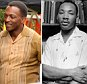 """Pictured: Anthony Mackie Mandatory Credit © Patron/Broadimage Anthony Mackie playing  Martin Luther King Jr on the set of  """"All the Way"""" in Los Angeles  10/5/15, Los Angeles, California, United States of America  Broadimage Newswire Los Angeles 1+  (310) 301-1027 New York      1+  (646) 827-9134 sales@broadimage.com http://www.broadimage.com"""