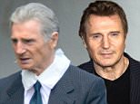 EXCLUSIVE TO INF. May 18, 2016: Liam Neeson on the set of 'Felt' in Atlanta, GA. Mandatory Credit: INFphoto.com Ref: infusat-05