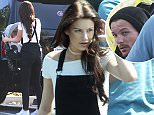 EXCLUSIVE PICTURES  May 19 2016 Louis Tomlinson is pictured with Briana Jungwirth for the first time since the 24 year old gave birth to their baby son Freddie in January.  Louis and Briana met up in a parking lot so Briana  could hand over their baby Freddie to the former One Direction singer. Around 90 minutes later Louis returned with Freddie to the same spot and was seen buckling his son's baby car seat into Briana's mother's car.