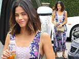 Picture Shows: Jenna Dewan  May 19, 2016\n \n Jenna Dewan was seen running errands in Beverly Hills, California. A photo of Jenna was recently posted by her husband Channing Tatum in a throwback photo on Instagram.\n \n Non-Exclusive\n UK RIGHTS ONLY\n \n Pictures by : FameFlynet UK © 2016\n Tel : +44 (0)20 3551 5049\n Email : info@fameflynet.uk.com