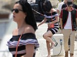 Picture Shows: Katy Perry, Orlando Bloom  May 18, 2016\n \n Hot new couple Orlando Bloom and Katy Perry are spotted out and about in Cannes, France.\n \n The loved-up pair are in town for the 69th Cannes International Film Festival.\n \n Non Exclusive\n UK RIGHTS ONLY\n \n Pictures by : FameFlynet UK � 2016\n Tel : +44 (0)20 3551 5049\n Email : info@fameflynet.uk.com