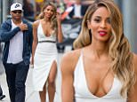 eURN: AD*206897977  Headline: Ciara holds hands with fiancee Russell Wilson as they leave Jimmy Kimmel Live! in Hollywood, CA Caption: Ciara holds hands with fiancee Russell Wilson as they leave Jimmy Kimmel Live! in Hollywood, CA.  Ciara was looking gorgeous in a low cut white dress and showing off her 16 karat diamond engagement ring.  Ciara and her ex Future have recently been in court regarding custody of their son.  Pictured: Ciara and Russell Wilson Ref: SPL1285301  190516   Picture by: VIPix / Splash News  Splash News and Pictures Los Angeles: 310-821-2666 New York: 212-619-2666 London: 870-934-2666 photodesk@splashnews.com  Photographer: VIPix / Splash News Loaded on 20/05/2016 at 04:22 Copyright: Splash News Provider: VIPix / Splash News  Properties: RGB JPEG Image (28192K 1401K 20.1:1) 2673w x 3600h at 72 x 72 dpi  Routing: DM News : GroupFeeds (Comms), GeneralFeed (Miscellaneous) DM Showbiz : SHOWBIZ (Miscellaneo