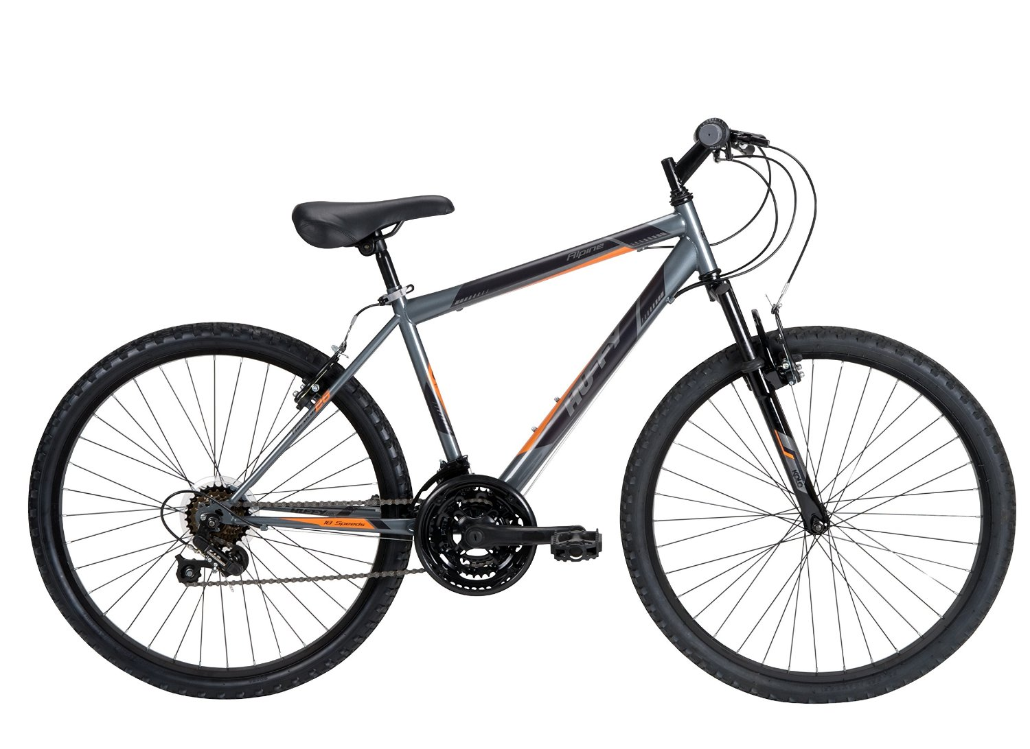 Huffy Bicycle Company Men's Number 26325 Alpine Bike, 26-Inch, Charcoal
