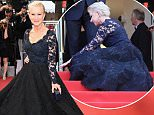 """CANNES, FRANCE - MAY 18:  Actress Helen Mirren attends """"The Unknown Girl (La Fille Inconnue)"""" Premiere during the 69th annual Cannes Film Festival at the Palais des Festivals on May 18, 2016 in Cannes, France.  (Photo by Venturelli/WireImage)"""