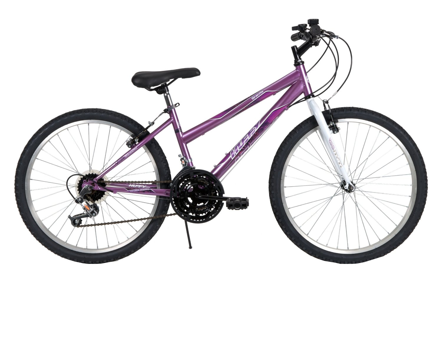 Huffy Bicycle Company Women's 24514 Granite Bike, Metallic Purple, 24-Inch