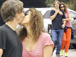 Exclusive... 52064111 Minnie Driver goes for a morning hike with her boyfriend Neville Wakefield in Los Angeles, California on May 19, 2016. Minnie has been in a legal battle with her neighbor about construction on their property where she is alleged to have thrown baby food jars of black paint at her neighbors house. FameFlynet, Inc - Beverly Hills, CA, USA - +1 (310) 505-9876