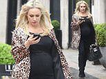 May 18, 2016: May 18, 2016  Pregnant Kristina Rihanoff seen leaving Inanch hair salon in London  Non Exclusive Worldwide Rights Pictures by : FameFlynet UK © 2016 Tel : +44 (0)20 3551 5049 Email : info@fameflynet.uk.com