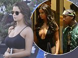 EXCLUSIVE: Tyga leaves hotel in Cannes with rumoured new girlfriend Demi Rose.  Pictured: Women Ref: SPL1286046  190516   EXCLUSIVE Picture by: Splash News  Splash News and Pictures Los Angeles:	310-821-2666 New York:	212-619-2666 London:	870-934-2666 photodesk@splashnews.com