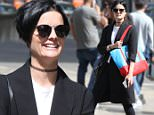 Mandatory Credit: Photo by Startraks Photo/REX/Shutterstock (5689270c)\nJaimie Alexander\nJaimie Alexander out and about, New York, America - 18 May 2016\nJaimie Alexander and friend shopping in Soho\n