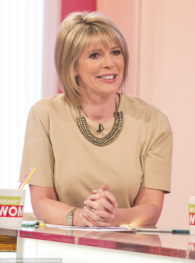 Opening up: Ruth Langsford also discussed her 2010 wedding tolong-term partner Eamonn Holmes
