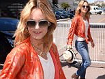 Vanessa Paradis and Kirsten Dunst go to Palace Festival in Cannes, France  Pictured: Vanessa Paradis Ref: SPL1286303  190516   Picture by: Splash News  Splash News and Pictures Los Angeles: 310-821-2666 New York: 212-619-2666 London: 870-934-2666 photodesk@splashnews.com