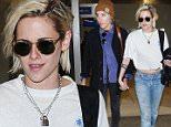 Picture Shows: Alicia Cargile, Kristen Stewart  May 19, 2016\n \n Actress Kristen Stewart and her rumoured girlfriend Alicia Cargile walk hand in hand while arriving on a flight at LAX in Los Angeles, California. The pair are returning from the Cannes Film Festival. \n \n Non-Exclusive\n UK RIGHTS ONLY\n \n Pictures by : FameFlynet UK © 2016\n Tel : +44 (0)20 3551 5049\n Email : info@fameflynet.uk.com