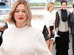 Mandatory Credit: Photo by James Gourley/REX/Shutterstock (5689471c)\nLea Seydoux and Marion Cotillard\n'It's Only the End of the World' photocall, 69th Cannes Film Festival, France - 19 May 2016\n