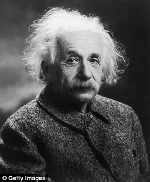 Albert Einstein (pictured) came up with his General Theory of Relativity in 1916