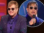 Sir Elton John during the filming of the Graham Norton Show at the London Studios in London, to be aired on BBC One on Friday evening. Picture date: Thursday May 19, 2016. Photo credit should read: PA Images on behalf of So TV