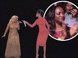 LEAKED FOOTAGE OF THE VOICE FINALE  CHRISTINA AGUILERA WHITNEY HOUSTON HOLOGRAM