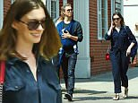 Picture Shows: Anne Hathaway, Jonathan Shulman, Adam Shulman  May 19, 2016\n \n Couple Anne Hathaway and Adam Shulman take their son Jonathan in for a check up at a local pediatrician clinic in Santa Monica, California. Afterwards the family had lunch at Kreation Organic Juicery. \n \n Non Exclusive\n UK RIGHTS ONLY\n \n Pictures by : FameFlynet UK © 2016\n Tel : +44 (0)20 3551 5049\n Email : info@fameflynet.uk.com
