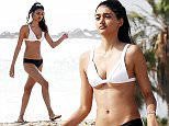 LOS ANGELES - USA *** EXCLUSIVE ALLROUND PICTURES *** Burberry Model Neelam Gill pictured showing off her toned Bikini body while soaking up the sun with a friend in sunny Los Angeles! BYLINE MUST READ : RACHPOOT / XPOSUREPHOTOS.COM ***UK CLIENTS - PICTURES CONTAINING CHILDREN PLEASE PIXELATE FACE PRIOR TO PUBLICATION *** **UK CLIENTS MUST CALL PRIOR TO TV OR ONLINE USAGE PLEASE TELEPHONE  44 208 344 2007**