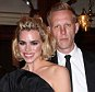 Red carpet arrivals at the 60th London Evening Standard Theatre Awards held at the London Palladium Theatre. Billie Piper and Laurence Fox. PICTURE BY: NIGEL HOWARD Email: nigelhowardmedia@gmail.com