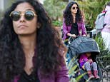 18.May.2016 - Calabasas ? USA\n*EXCLUSIVE ALL ROUND PICTURES*\n*** STRICTLY AVAILABLE FOR UK AND GERMANY USE ONLY ***\nCalabasas, CA - Prince's ex wife Manuela Testolini was seen paying her respects to the late artist by wearing a purple jacket for a shopping trip in Calabasas.\nBYLINE MUST READ : AKM-GSI-XPOSURE\n***UK CLIENTS - PICTURES CONTAINING CHILDREN PLEASE PIXELATE FACE PRIOR TO PUBLICATION ***\n*UK CLIENTS MUST CALL PRIOR TO TV OR ONLINE USAGE PLEASE TELEPHONE 0208 344 2007*\n