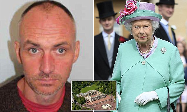 Buckingham Palace intruder is a convicted murderer