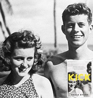 ca. 1934-1940 --- John F. Kennedy and sister Kathleen Kennedy at Palm Beach, Florida. ca/ 1934-40. --- Image by © CORBIS