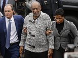 FILE - In this Dec. 30, 2015 file photo Bill Cosby, center, accompanied by his attorneys Brian McMonagle, left, and Monique Pressley, arrives at court to face a felony charge of aggravated indecent assault in Elkins Park, Pa. Cosby is spending millions of dollars on teams of high-priced lawyers across the country amid a cascade of sexual assault allegations, defamation claims and insurance disputes. (AP Photo/Matt Rourke, File)