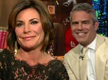 Luann de Lesseps and far of Andy Cohen Watch What happens