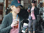 EXCLUSIVE Coleman-Rayner Los Angeles CA, USA. May 20, 2016 A completely make-up free Elizabeth Banks grabs a coffee & iced tea while out and about in Los Angeles today. Ms Banks is set to play villain Rita Repulsa in the upcoming Sabans Power Rangers live-action movie. CREDIT LINE MUST READ: Coqueran/Coleman-Rayner. Tel US (001) 310-474-4343 - officeÜ Tel US (001) 323 545 7584 - cell www.coleman-rayner.com