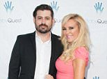 """TOLUCA LAKE, CA - MAY 19:  Bridget Marquardt (R) and Nick Carpenter arrive at the 2nd Annual """"Let's Make A Baby"""" Fundraiser Gala on May 19, 2016 in Toluca Lake, California.  (Photo by Jennifer Lourie/Getty Images)"""